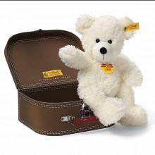 Steiff-Teddybär Lotte m.Koffer 28cm