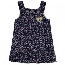 Steiff Baby Träger-Kleid Blumenmotiv