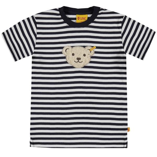 Steiff Basic T-Shirt, geringelt