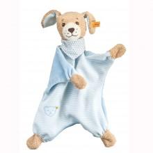 Steiff-Gute Nacht Hund Schmusetuch