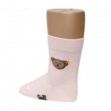 Steiff-Socke mit Teddykopf