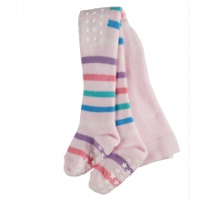 Falke Baby ABS Str´hose Streifen - rosa