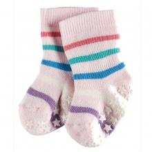 Falke Baby Catspads Streifen - rosa