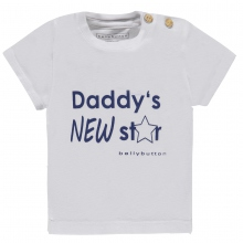 Bellybutton T-Shirt, Daddy`s New Star