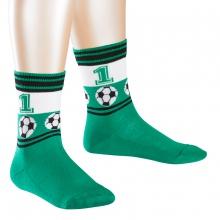 Falke Kinder Fußballsocke - grün