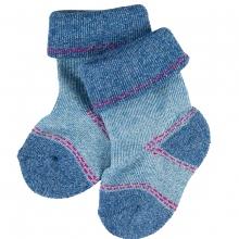Falke Baby Catspads - jeans blau meliert