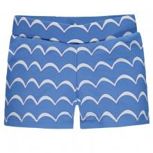 Steiff Schwimmshorts Junge, Wellen - blau