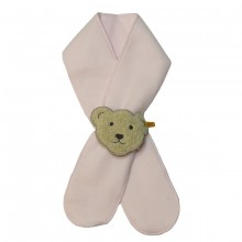 Steiff Baby Fleece Schal - rosa