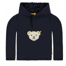 Steiff Basic Sweatshirt, Kapuze