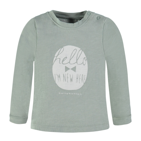 Bellybutton T-Shirt lg.Arm, Hello