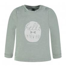 Bellybutton T-Shirt lg.Arm, Hello - grüngrau