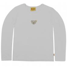 Steiff Basic Langarm T-Shirt - weiß