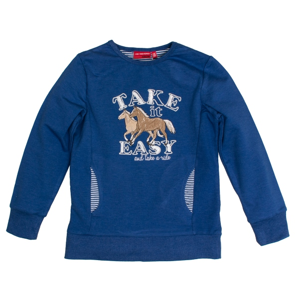 Salt & Pepper Pferde Sweatshirt,Taschen