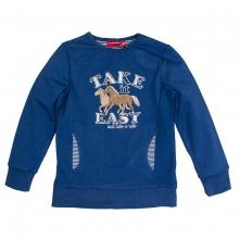 Salt & Pepper Pferde Sweatshirt,Taschen - navy