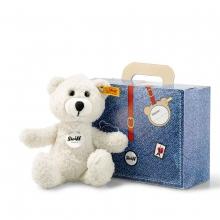 Steiff Teddybär Sunny creme im Koffer