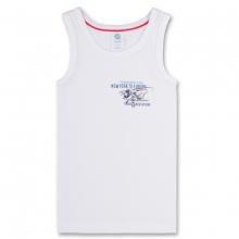 Sanetta Junge Unterhemd, Flugzeug - weiß/original