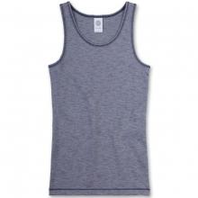 Sanetta Mädchen Unterhemd, meliert - original