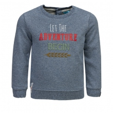 Lief! Sweatshirt Ju. Let The Adveture... - blau