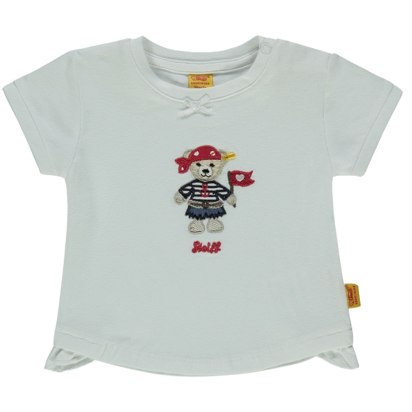 Steiff Baby T-Shirt Mäd. Piratin