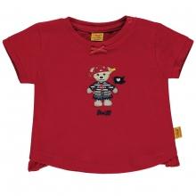 Steiff Baby T-Shirt Mäd. Piratin - rubinrot