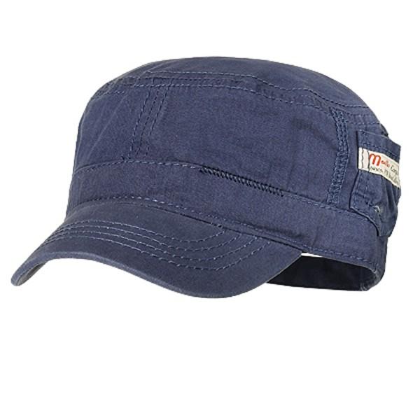 Maximo Baseball-Tellercap, Jeans, farbig