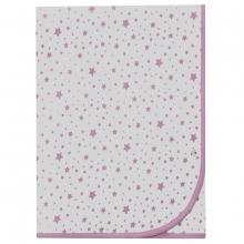 Bellybutton Decke, Sterne - rosa
