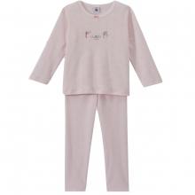 Petit Bateau Schlafanzug lang, 4 Mädchen