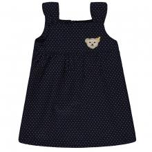 Steiff Baby Trägerkleid, Pünktchen - marine