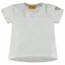Steiff T-Shirt Mäd. Lochstickerei