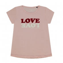 Marc O´Polo T-Shirt Mäd. LOVE - rosa