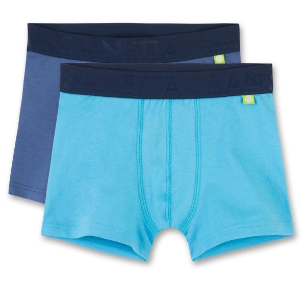 Sanetta Shorts 2er Pack. Ju. uni