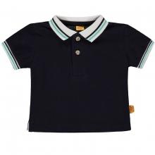 Steiff Baby Poloshirt Ju. Streifenkragen