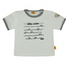 Steiff Baby T-Shirt Ju. little Sailor - weiß