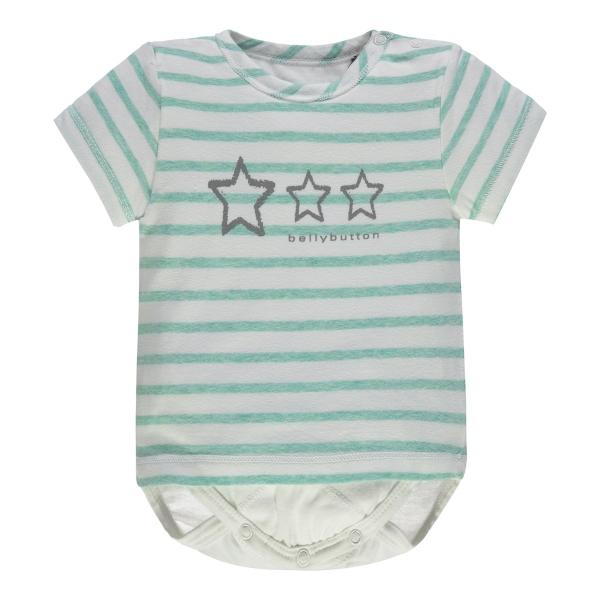 Bellybutton Shirt-Body Streifen,Sterne