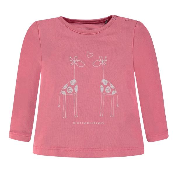 Bellybutton T-Shirt lg.Arm Giraffe/Apfel