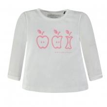Bellybutton T-Shirt lg.Arm Giraffe/Apfel - weiß