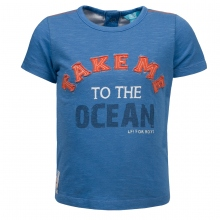 Lief! T-Shirt Ju. Take Me To The Ocen - blau