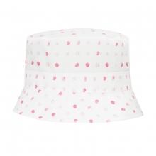 Döll Hut pinke Punkte - rosa-pink