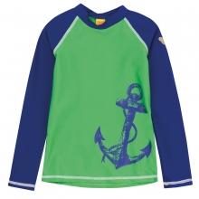 Steiff Sonnenschutzshirt Ju. Anker - grün