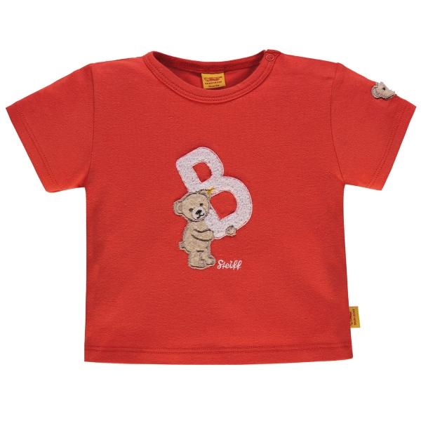 """Steiff Baby T-Shirt Ju. Bär, """"B"""""""