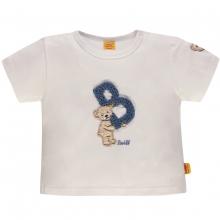 """Steiff Baby T-Shirt Ju. Bär, """"B"""" - weiß"""