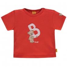 """Steiff Baby T-Shirt Ju. Bär, """"B"""" - rot"""