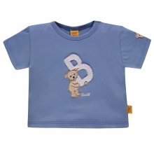 "Steiff Baby T-Shirt Ju. Bär, ""B"" - blau"