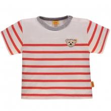Steiff Baby T-Shirt Ju. Ringel - rot