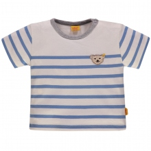 Steiff Baby T-Shirt Ju. Ringel - blau