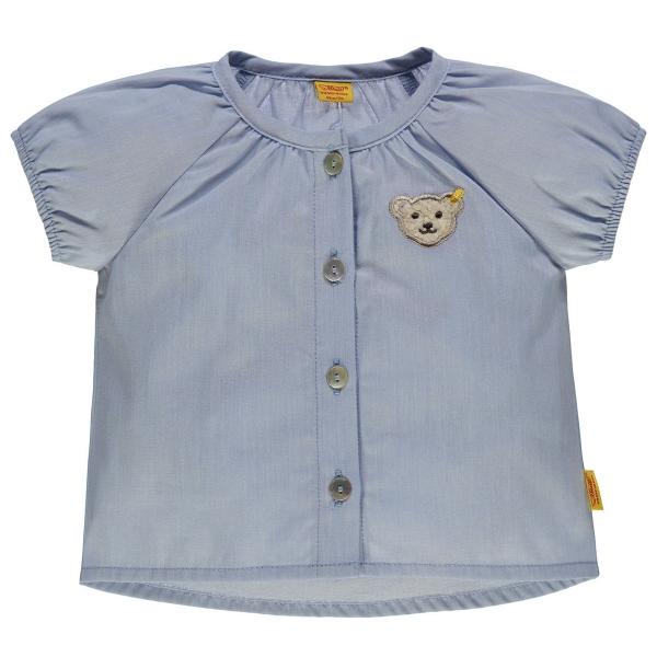 Steiff Baby Bluse, hellblau