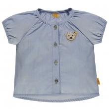 Steiff Baby Bluse, hellblau - original