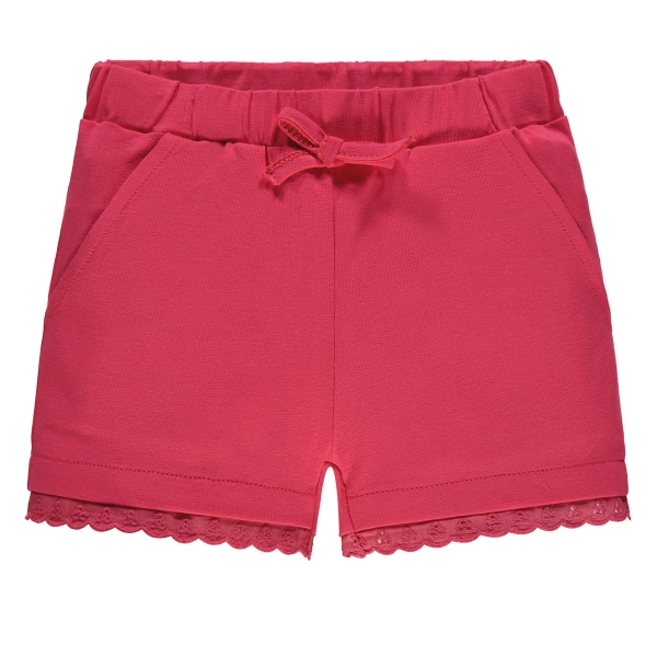 Steiff Sweat-Shorts Mäd. Stickrüsche