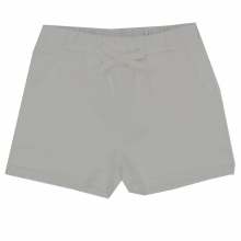 Steiff Sweat-Shorts Mäd. Stickrüsche - natur