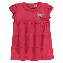 Steiff T-Shirt Mäd. Volant,Flügelärmel - rosa-pink